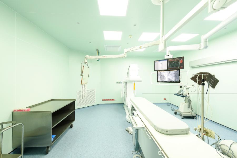 งานปรับปรุงห้อง ผ่าตัดสวนหัวใจ เสรีรักษ์ (6)