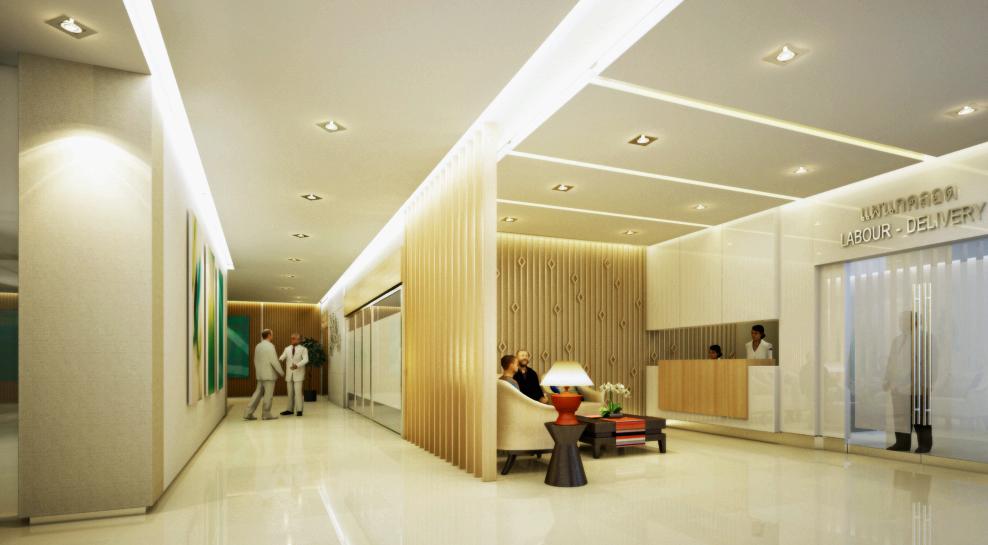 งานออกแบบ โรงพยาบาลกรุงทเพ เชียงใหม่ (1)