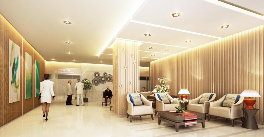 งานออกแบบ โรงพยาบาลกรุงทเพ เชียงใหม่ (2)