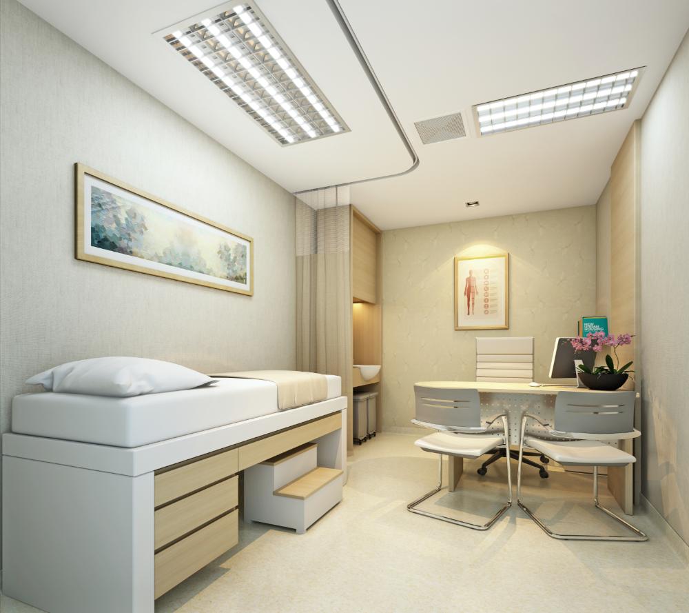 งานออกแบบ โรงพยาบาลกรุงเทพ พัทยา (1)