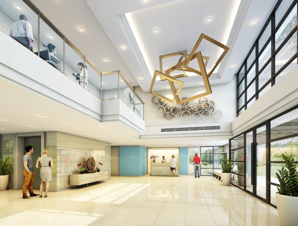 งานออกแบบ โรงพยาบาลกรุงเทพ ศูนย์วิจัย (1)