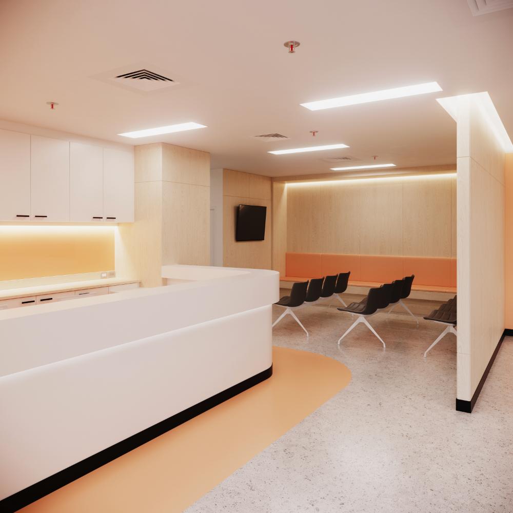 งานออกแบบ โรงพยาบาลจุฬาภรณ์ (2)