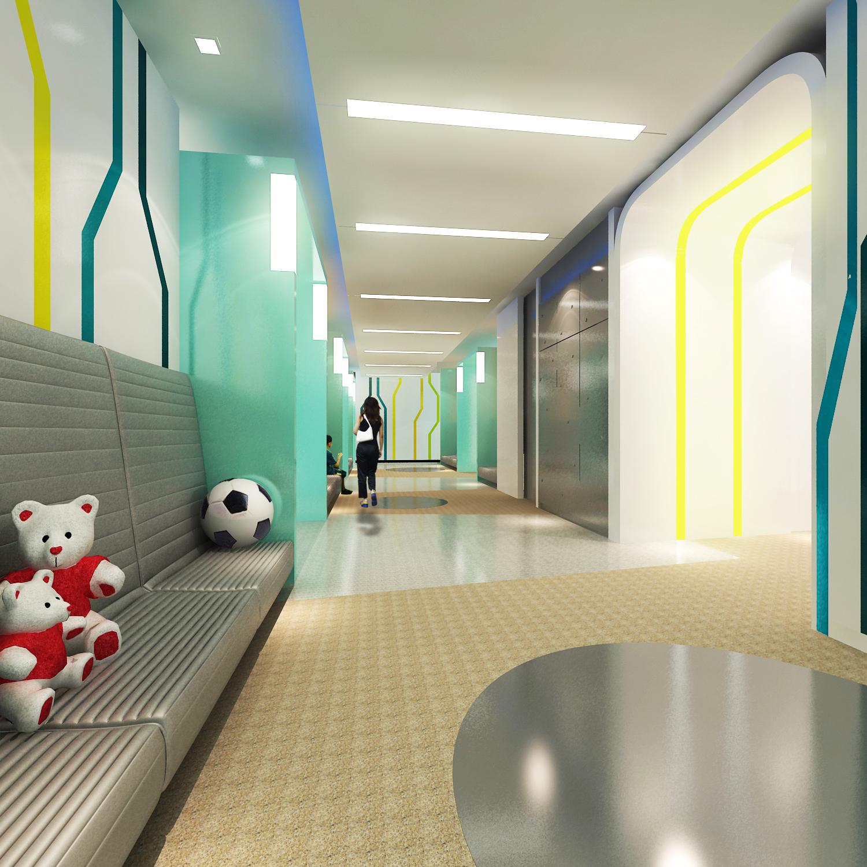 งานออกแบบ โรงพยาบาลเชียงใหม่ราม เด็ก (1)
