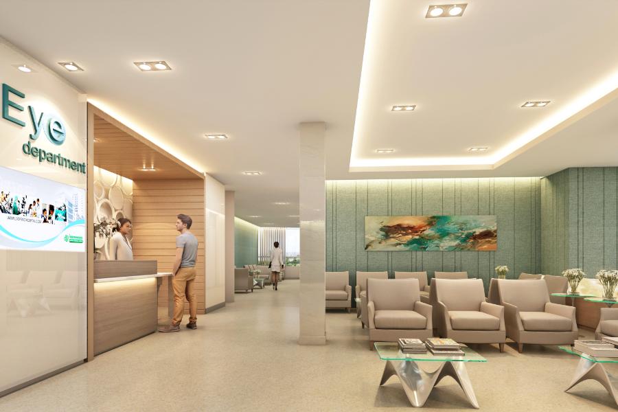 งานออกแบบ โรงพยาบาล ลาดพร้าว (1)
