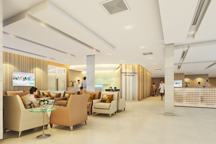 งานออกแบบ โรงพยาบาล ลาดพร้าว (3)