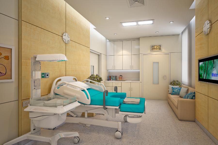 งานออกแบบ LDR โรงพยาบาล สมิติเวช ธนบุรี