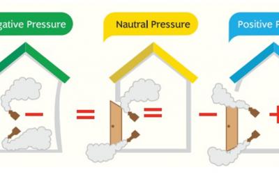 4. ห้องความดันบวก (positive pressure)
