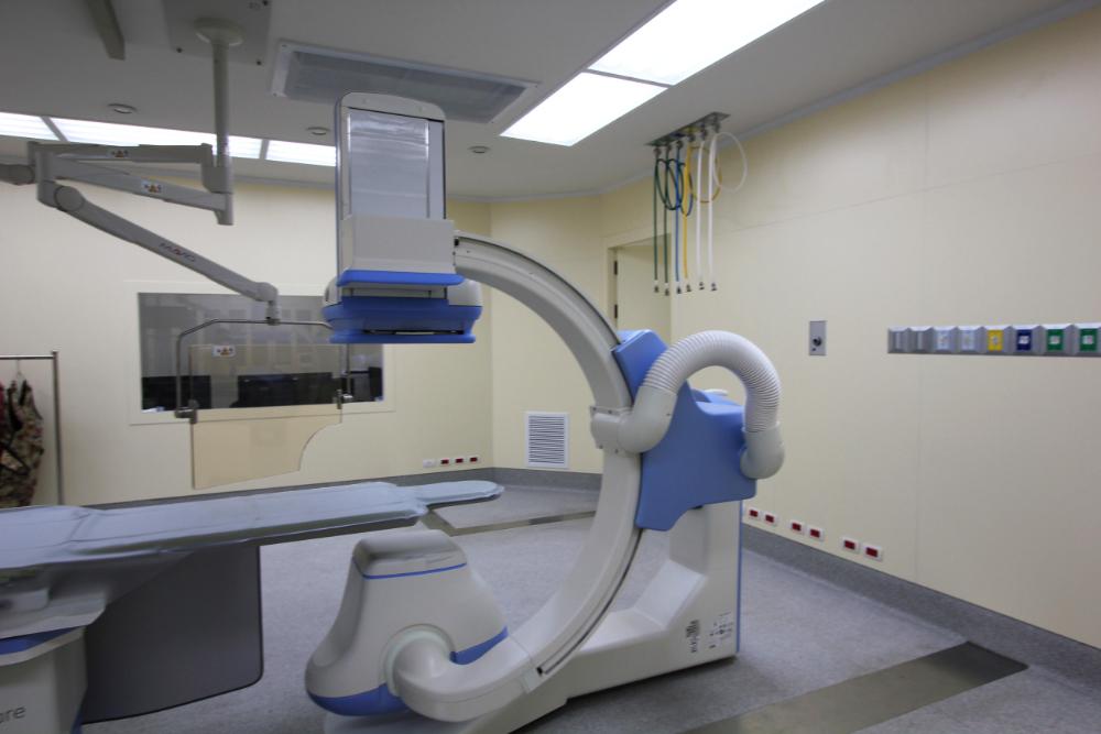 ห้องผ่าตัด สวนหัวใจโรงพยาบาลกรุงเทพ พนมเปญ (10)