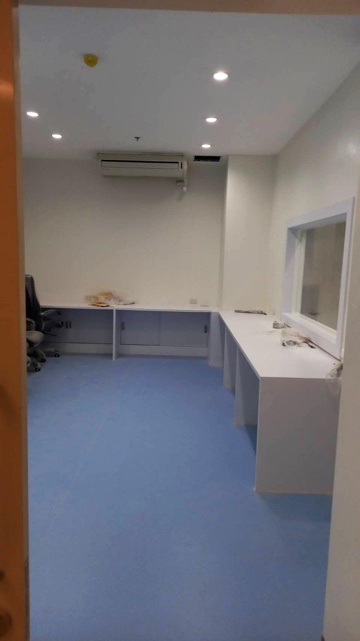 1งาน ปรับปรุง ห้องผ่าตัดสวนหัวใจ Cath lab โรงพยาบาล นครปฐม (11)