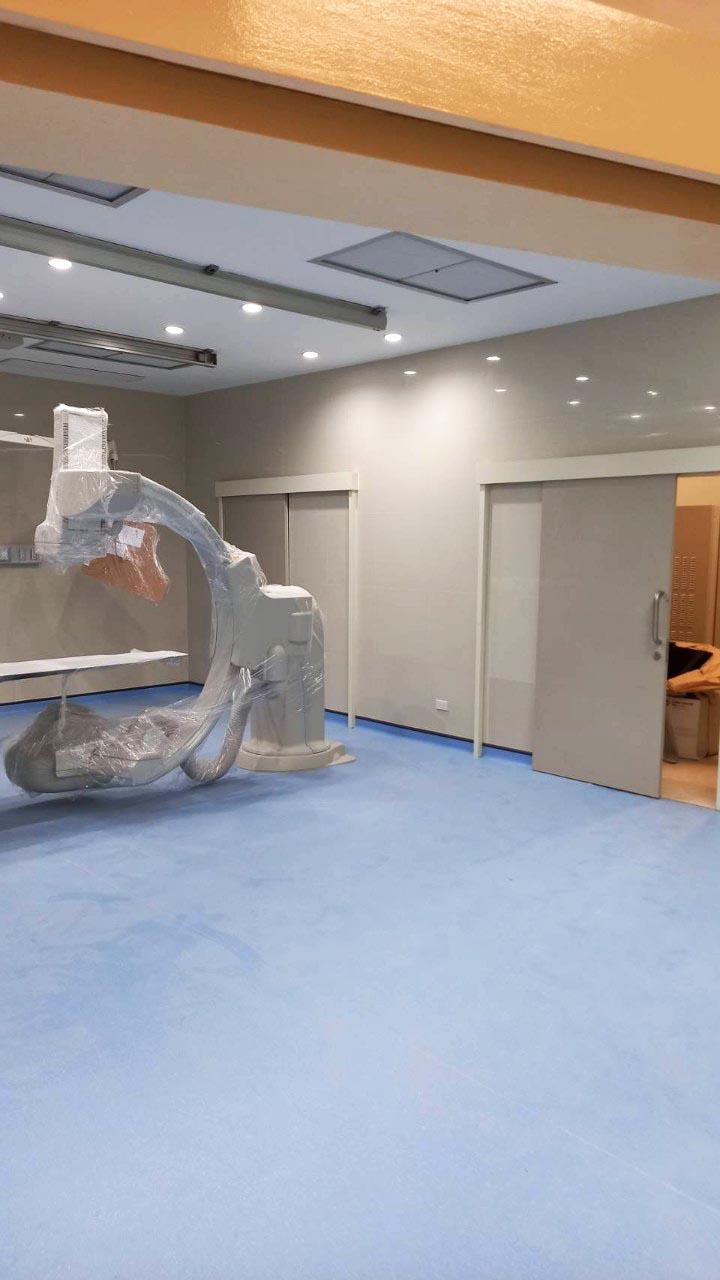 1งาน ปรับปรุง ห้องผ่าตัดสวนหัวใจ Cath lab โรงพยาบาล นครปฐม (4)