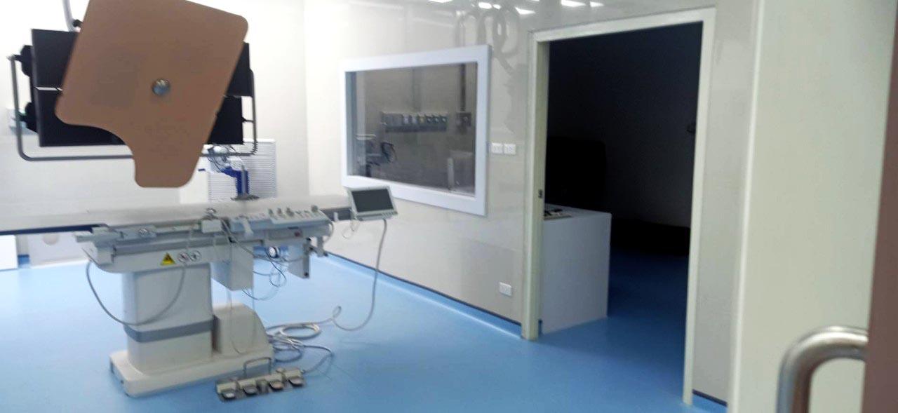 1งาน ปรับปรุง ห้องผ่าตัดสวนหัวใจ Cath lab โรงพยาบาล นครปฐม (9)